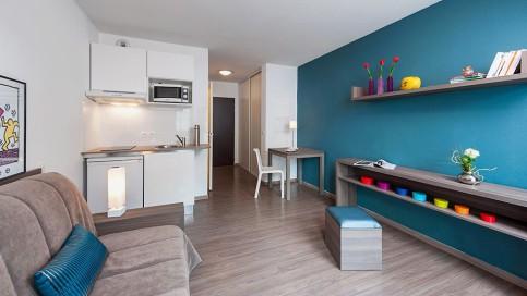 Résidence étudiante Bordeaux Garonne appartement