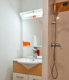 Résidence étudiante Talence Gambetta appartement salle de bain
