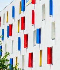 Résidence étudiante Talence Université façade
