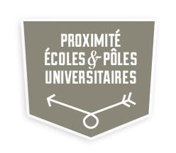 Proximité écoles et pôles universitaires