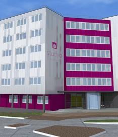 Résidence étudiante Talence Université 2 façade