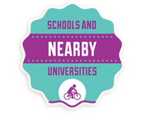 Schools and universities nearby